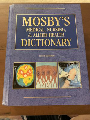 Mosby's Medical, Nursing, & Allied Health Dictionary - 5th Edition for Sale in Roanoke, VA