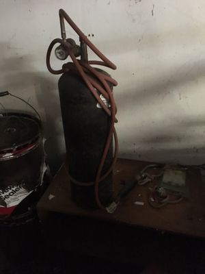 B bottle 1/2 full + regulator and torch for Sale in Seattle, WA