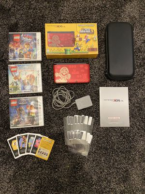 Nintendo 3DS XL Mario Edition for Sale in Pomona, CA
