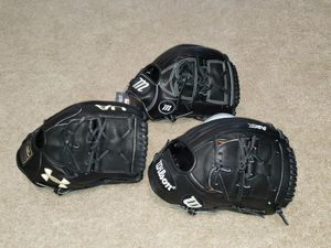 Wilson A2K, Marucci Founders Series, Under Armour Flawless 12inch Baseball Glove for Sale in Riverside, CA