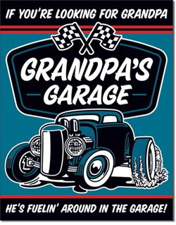 Grandpa's Garage Metal Sign - New And Bagged for Sale in Gresham,  OR