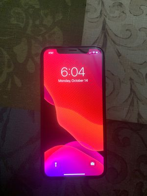 AT&T 64GB IPHONE X BLACK for Sale in Chester, VA