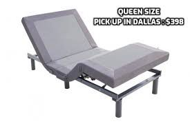 Adjustable Full or Queen Bed W/ Remote control and massage $398 or $54 Down for Sale in Dallas, TX