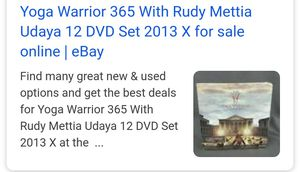 Yoga warriors 365 Rudy Mettia 12 DVD set for Sale in Arvada, CO