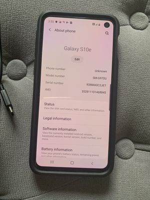 Samsung Galaxy S10e for Sale in San Diego, CA