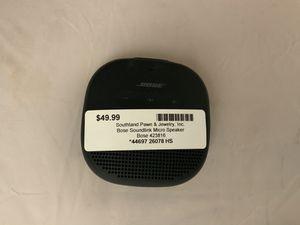 Bose soundlink micro speaker for Sale in Morrow, GA