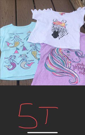3T 4T 5T Shirts Sweatshirts Sweaters Trolls Paw Patrol Unicorn Mermaids Cats for Sale in Homestead, PA