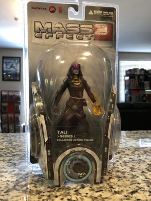 Mass Effect 3 Tali Action Figure Series 1 New Sealed for Sale in San Jose, CA