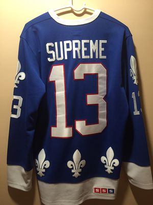Supreme fleur de lis hockey jersey Large for Sale in Gaithersburg, MD
