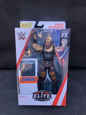 WWE elite collection action figure Braun Strowman for Sale in Bell Gardens, CA