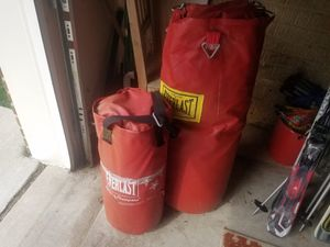 2 PUNCHING BAGS for Sale in Fairfax, VA