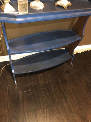 Blue shelf for Sale in Bedford, TX