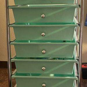 10 Drawer Storage Unit Blue From Michael's for Sale in Los Angeles, CA