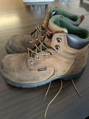 Red Wing steel toe work boots for Sale in Syracuse, UT