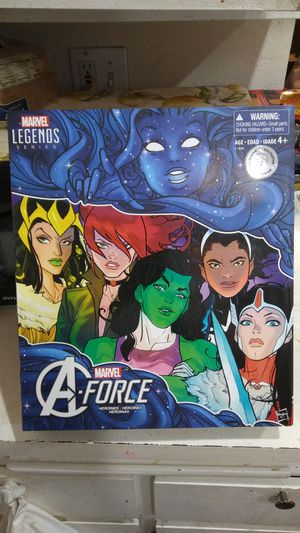 Marvel Legends A- Force Heroines Set for Sale in Buena Park, CA