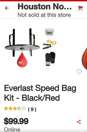 EVERLAST speed Bag kit new for Sale in Houston, TX