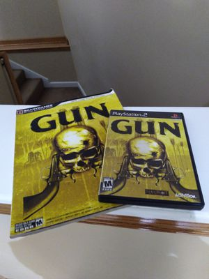 Ps2 Gun game with game guide for Sale in Hiram, GA