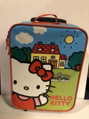Hello kitty rolling suitcase for Sale in San Bernardino, CA