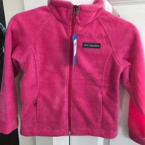 NWT - Columbia Fleece Jacket, Girl's xxs for Sale in Gaithersburg, MD