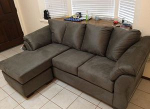 [SPECIAL] Darcy Cobblestone Sofa Chaise for Sale in Jessup, MD