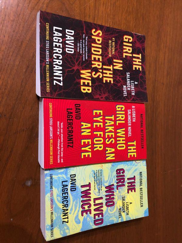 Books: Lizbeth Salander Novels