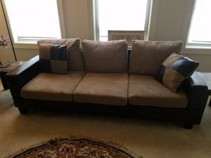 Sofa from Ashley,recleanet,stool for Sale in Ashburn, VA