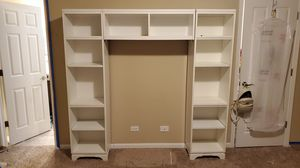 White shelves for Sale in Oswego, IL