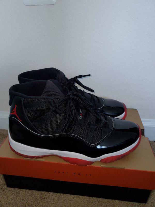 Air Jordan Retro 11 Bred Size 10.5