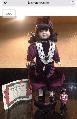 Melissa Jane Antique porcelain doll New in box NIB for Sale in Bell Gardens, CA