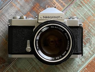 Nikon Camera Nikkormat FTN And An Excellent 43-86mm Lenz for Sale in Campbell,  CA