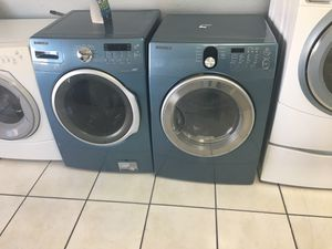 Samsung frontload washer and dryer for Sale in Orlando, FL