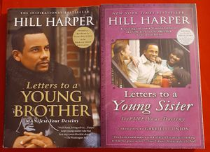 (2) Hill Harper Books Letters to a Young Brother & Sister for Sale in Hazelwood, MO