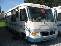 96 ford motorhome lots of great parts has fire damage to the dash {contact info removed} for Sale in Daleville, AL