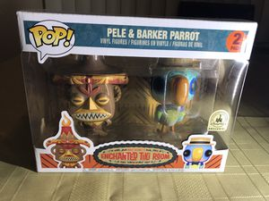 Funko Pop Pele & Barker Parrot from Disney's Enchanted Tiki Room for Sale in Los Angeles, CA