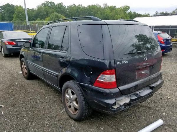 2003 MERCEDES-BENZ ML 350 Parts only. U pull it yard cash only.