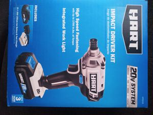 Hart impact drill kit for Sale in Columbus, OH