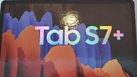 Samsung Galaxy Tab S7+ 512GB Wifi Only, Mystic Black or Bronze for Sale in Wayne,  NJ
