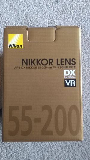 Brand New Nikkor Camera Lens 55-200mm for Sale in Manchester, CT
