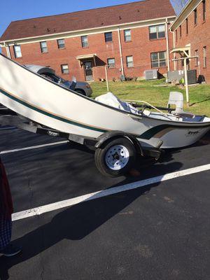 Hyde Drift Boat 16 ft guide model 2001 hardly used for Sale in Nashville, TN