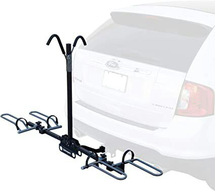 Bike carrier 2 bikes trailer mount