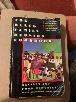 The Black Family Reunion Cookbook for Sale in Chesapeake, VA