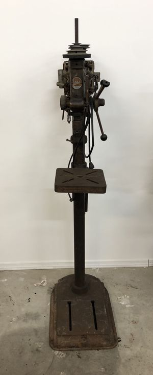Early atlas drill press for Sale in Chicago, IL