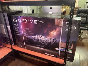 55 INCH LG OLED C9 AI THIN Q SMART 4K TV SALE ! BRAND NEW TVS 2019 for Sale in Alhambra, CA