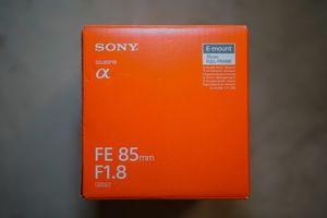 Sony 85mm f1.8 Brand new for Sale in Colton, CA
