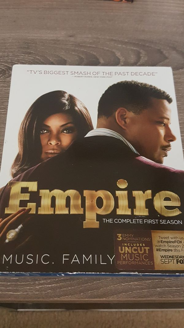 Empire Season 1 (blu-ray) *Brand New*