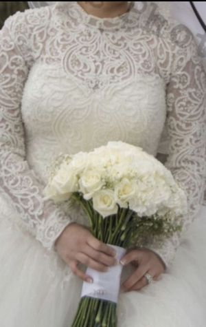 Wedding dress ball gown for Sale in Orland Park, IL