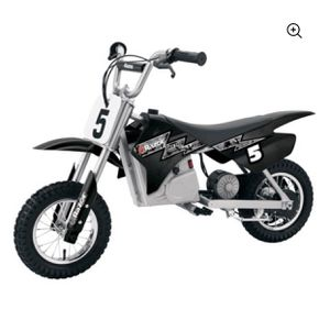 Razor MX350 24V Dirt Rocket Electric Ride on Motocross Bike- Black for Sale in North Brunswick Township, NJ