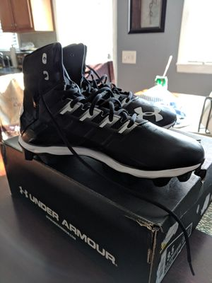 Under Armour Football cleats for Sale in Cranston, RI