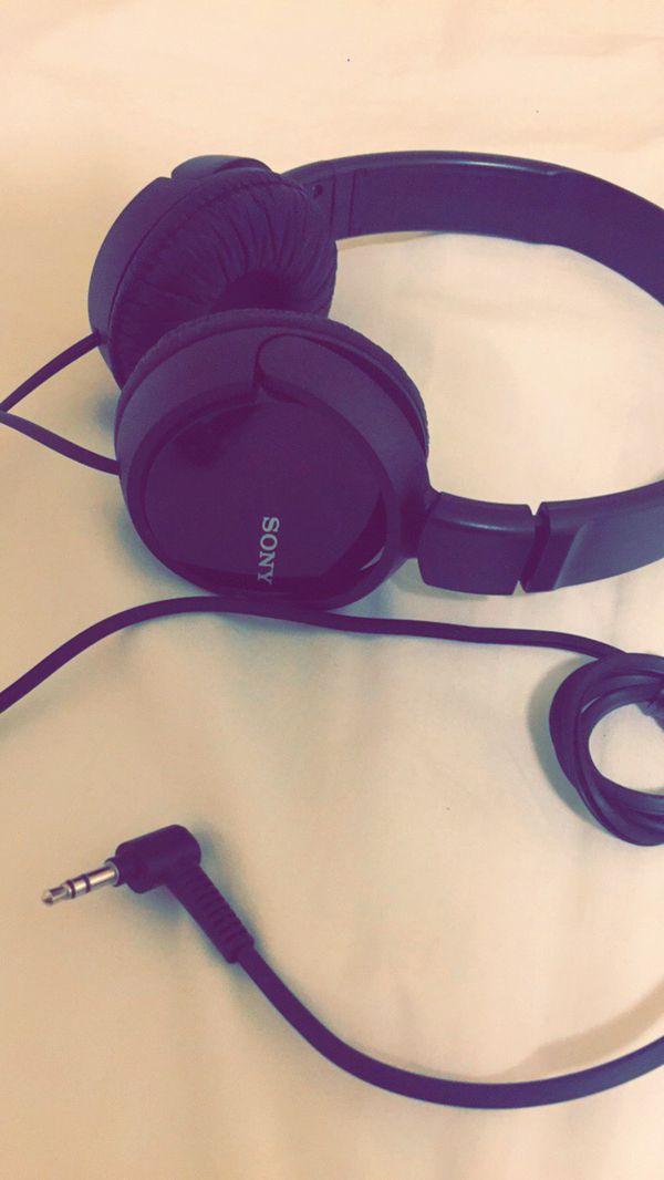 New Sony headphones!