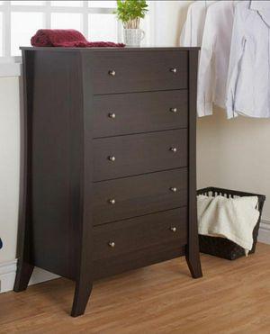 5-Drawer Dresser in Espresso Finish for Sale in Chino, CA